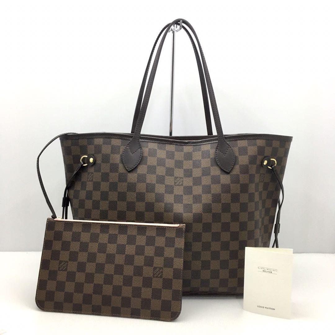 Louis Vuitton Damier Neverfull MM Bag 207008121 ,