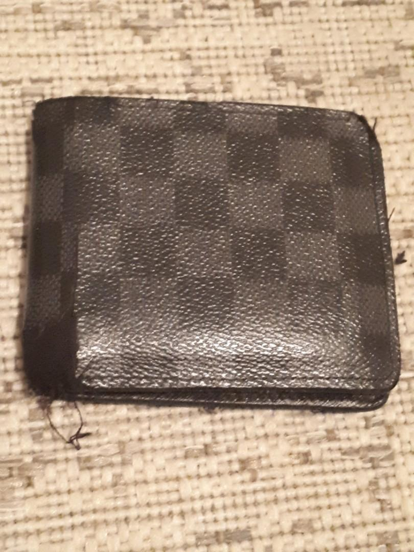 Louis Vuitton Graphite Wallet