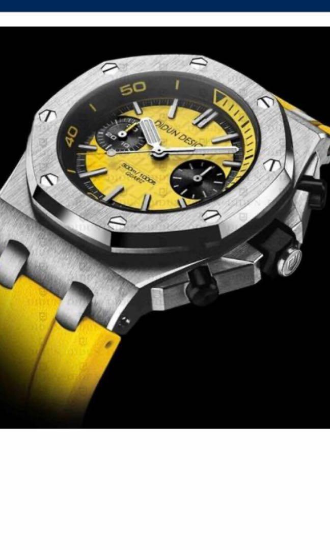 Luxury full steel diver watches