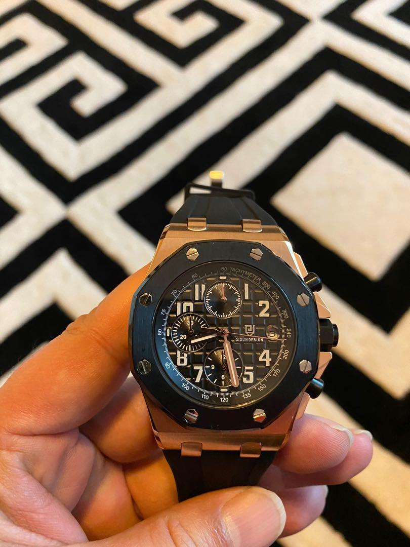 Luxury full steel solid watches