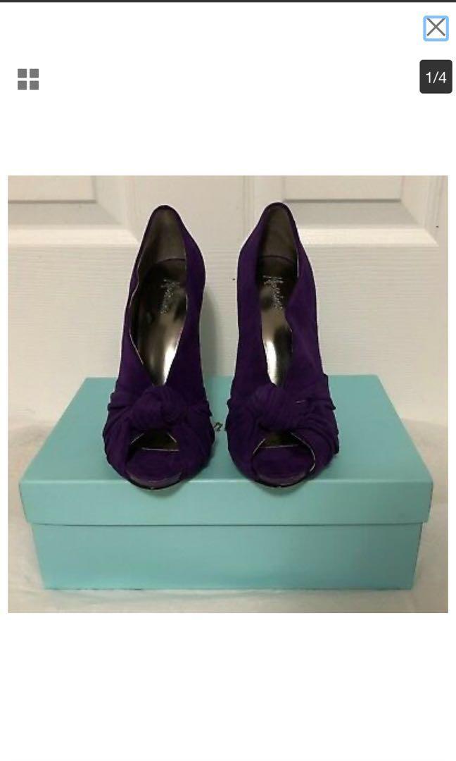 Marciano Purple Booties Size 7 NIB