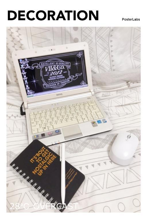 Murphy►BenQ Joybook Lite U101小筆電Netbook 平板 純白