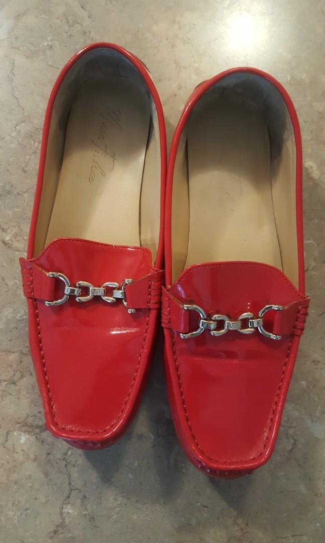 Nice Red Mark Fisher Shoes