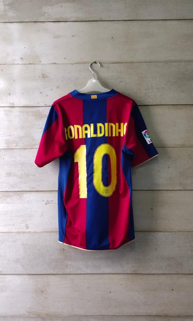 Original jersey Barcelona 2007 home Ronaldinho