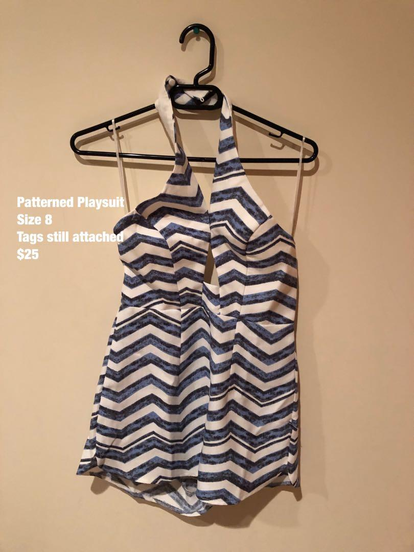Patterned Playsuit