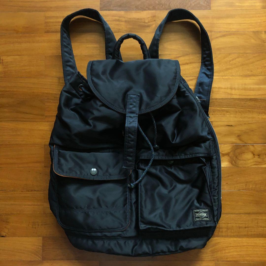 Porter Yoshida: Tanker Backpack (Navy)