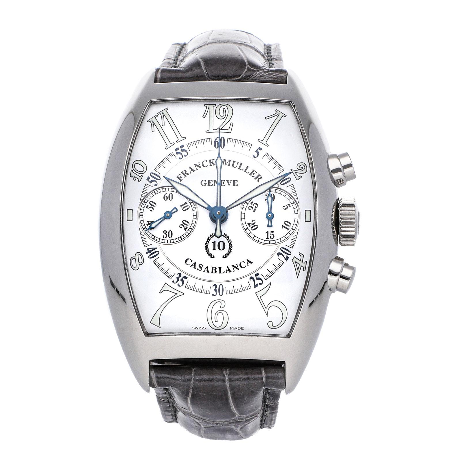 Pre-Owned Franck Muller Casablanca Chronograph 10th Anniversary Limited Edition 8880 C CC CASABLANCA