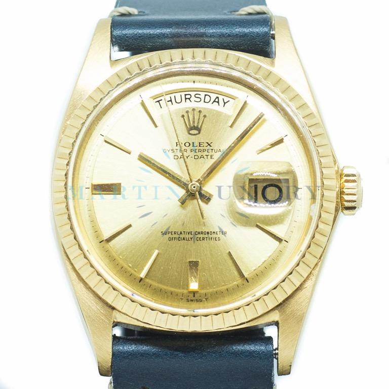 Preowned Rolex Day-Date 36mm in 18k Yellow Gold Ref: 1803