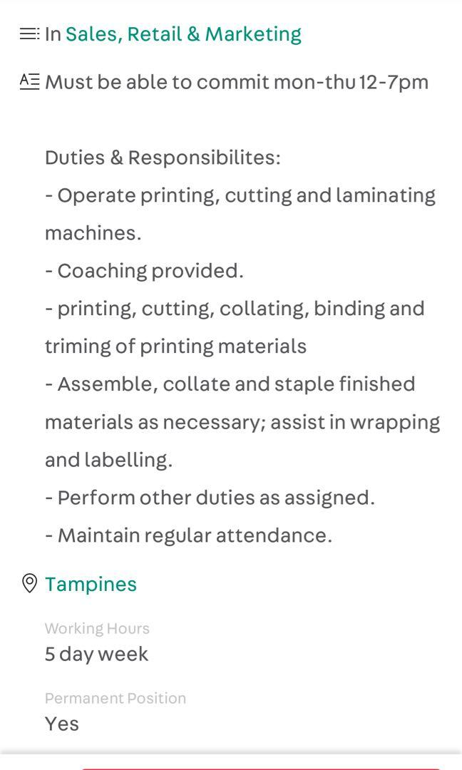 Printing assistant