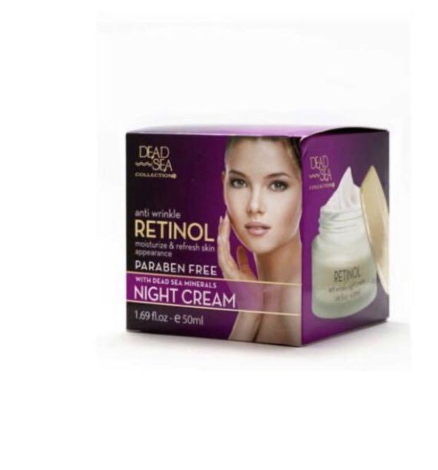 Retinol Anti-wrinkle Night Cream