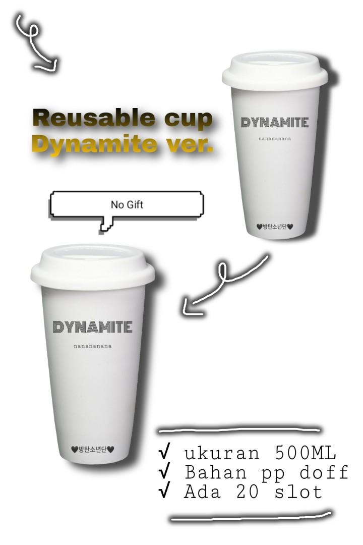 REUSABLE CUP DYNAMITE VER