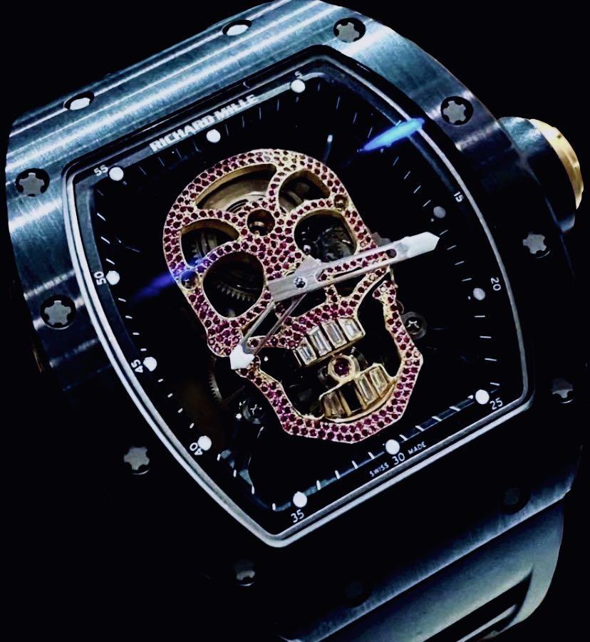 Richard Mille RM52-01 Skull Tourbillon