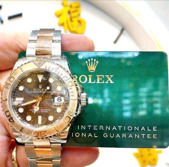 Rolex 126621 yacht master TT choco