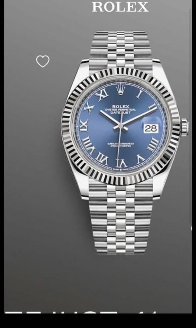 Rolex datejust 41 used once