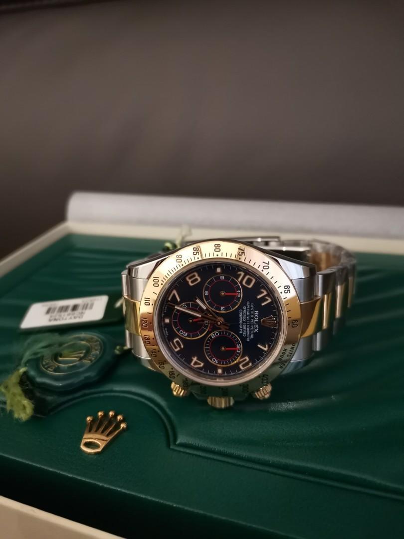 Rolex Daytona blue racing dial 116523