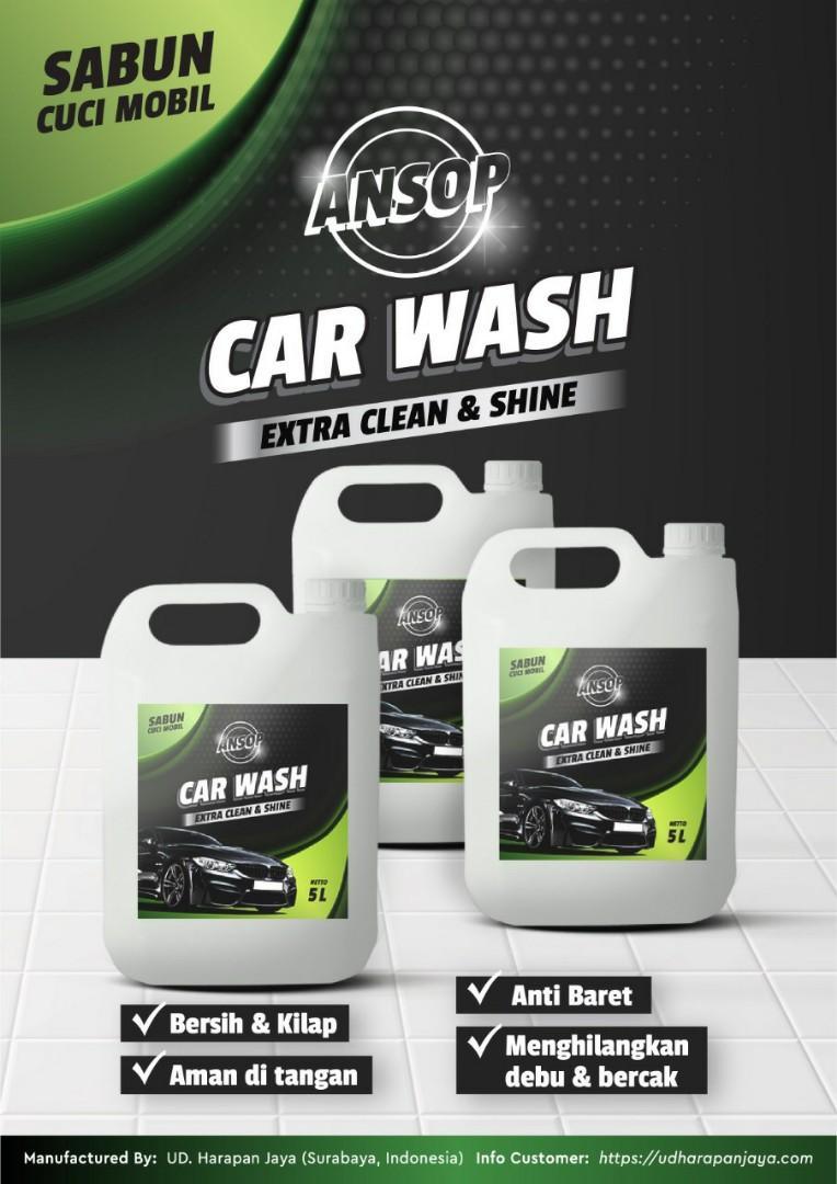 Sabun cuci mobil carwash 5 liter