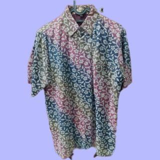 Sale Batik Doby Gradasi Warna Ungu
