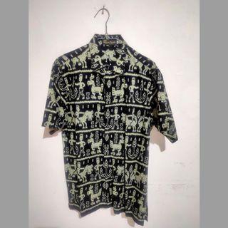Sale Kemeja Batik Pria Motif Papua