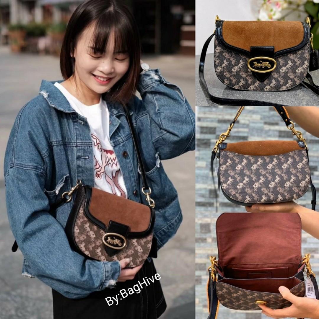 Sale🎊Authentic Coach Kat Saddle Bag
