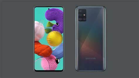 Samsung A51 with Screen Protector