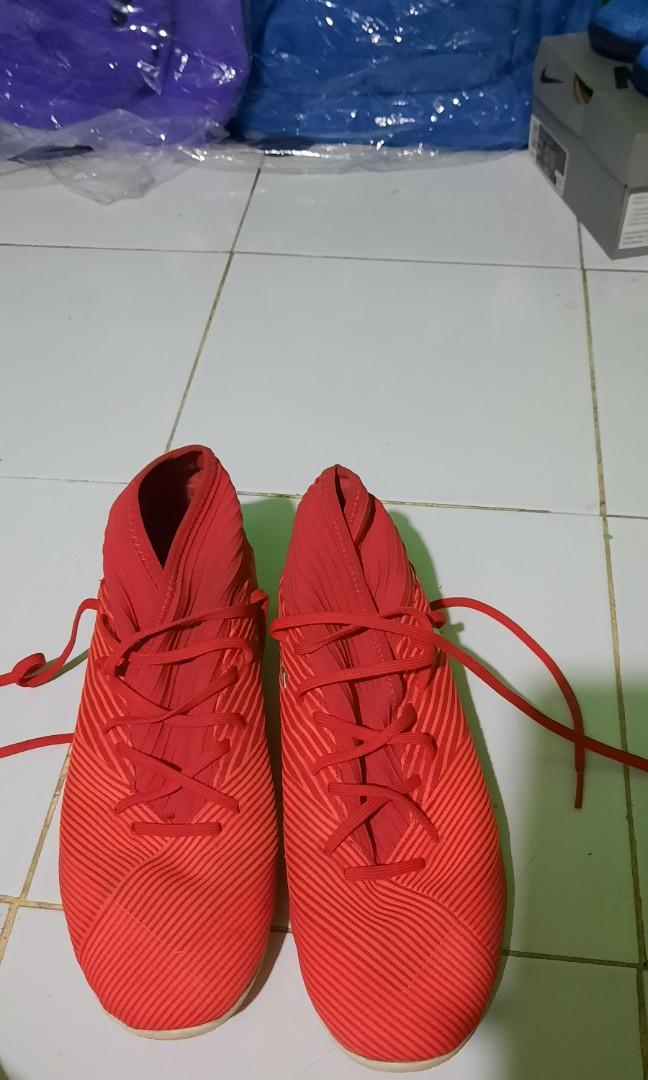 Sepatu Futsal Adidas Nemeziz 19.3 IN Active Red
