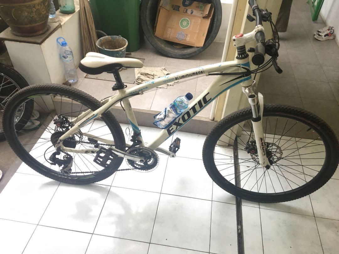 SEPEDA EXOTIC, Sepedah Santai, Gunung/MTB. Road Bike !