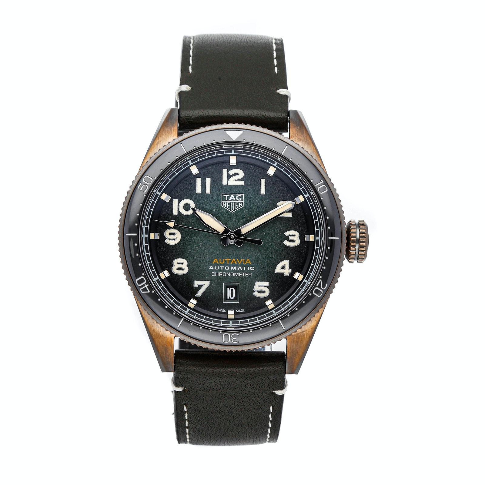 Tag Heuer Autavia Heritage Calibre 5 Chronometer WBE5190.FC8268