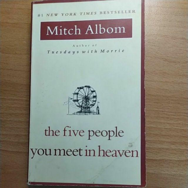 The five people you meet in heaven原文書