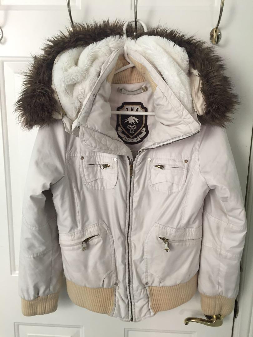 TNA WHITE COAT