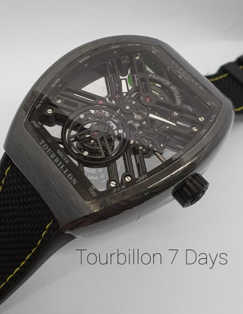 Tourbillon 7 Days Carbon