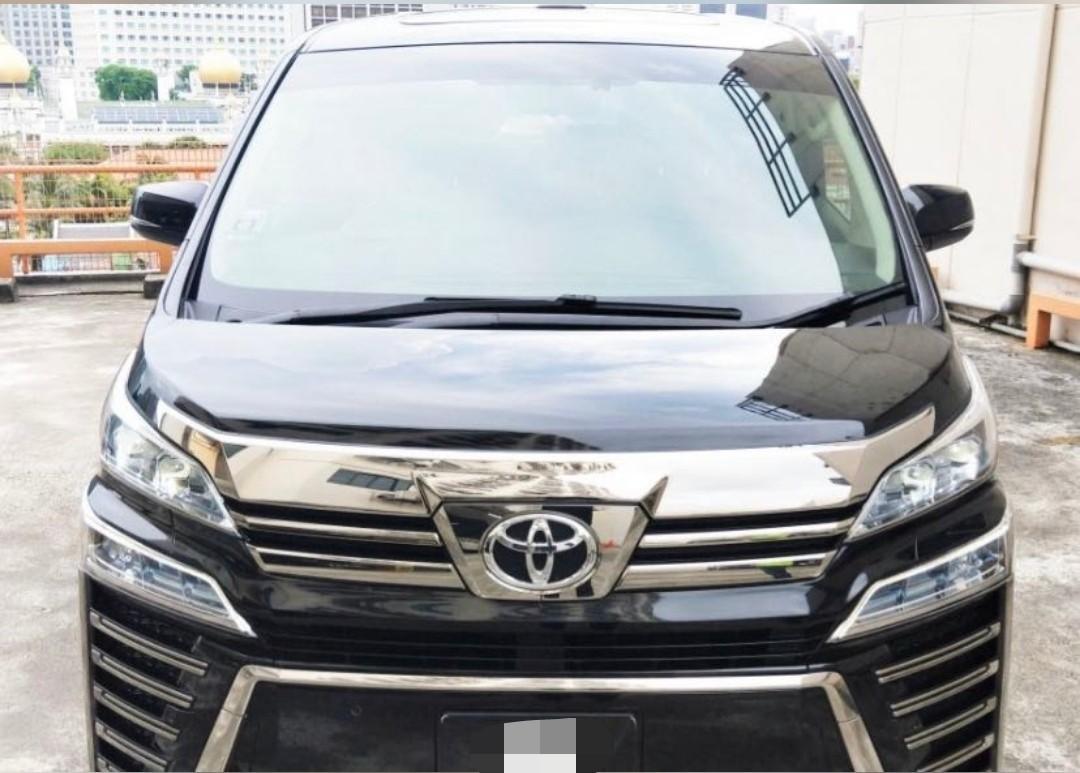 Toyota Vellfire 2.5 Elegance (A)
