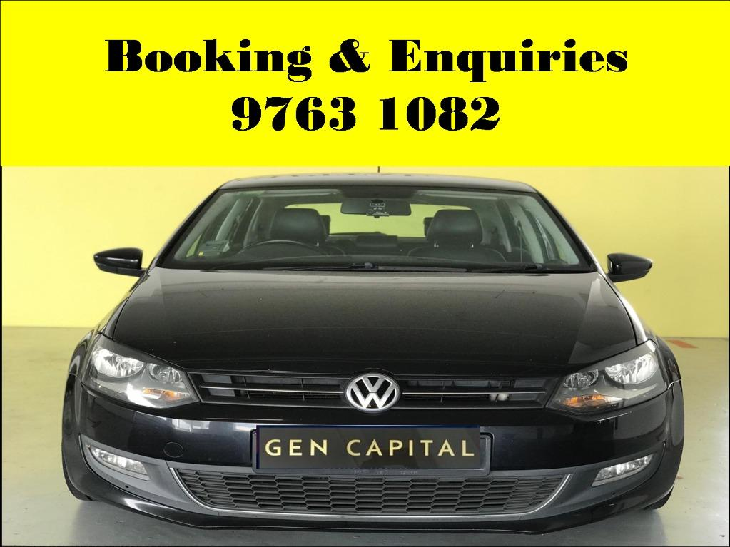 Volkswagen Polo ! Pre - weekend rental promotion ! PHV or Personal ! cheap and budget car for rent ! Deposit @ $500 only ! Whatsapp 9763 1082 to reserve now !