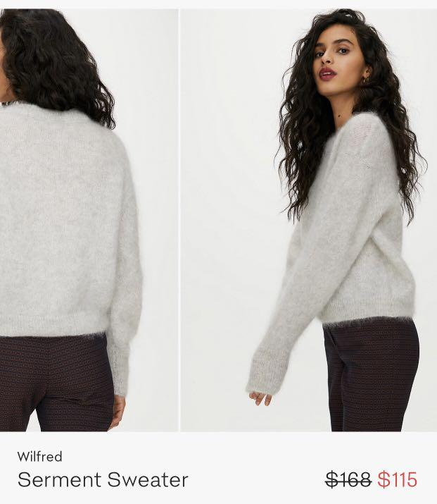 Wilfred wool sweater (xs)