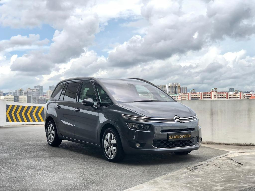 12/09 Call Jenny 8615 8615 Citroen C4 Picasso Diesel Available ! August 2020 Promotion ! Cheapest In The Market ! Ready For Go-Jek Rebate, Grab, Ryde, PHV, Personal Usage ! Come Now Don't Wait Any Longer !  Rent Car ! Car Rental ! Cheap Rental Car !