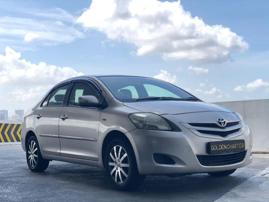 12/09 CALL JENNY 8615 8615 NOW ! Toyota Vios Available ! Min. 1 month ! While Stocks Last! Readily Available for Personal Usage, PHV, Go-Jek Rebate, Grab ! Rent Car ! Car Rental ! Cheap Rental Car !