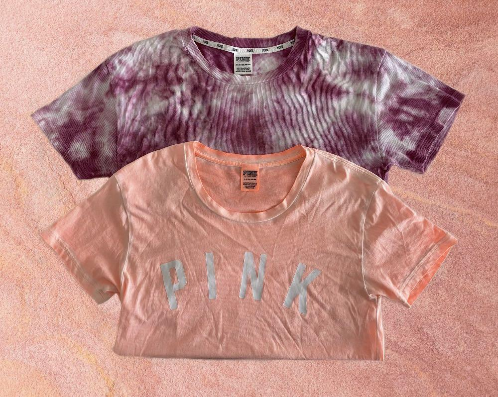 2 FOR $40 BRAND NEW VICTORIA'S SECRET PINK T-SHIRTS