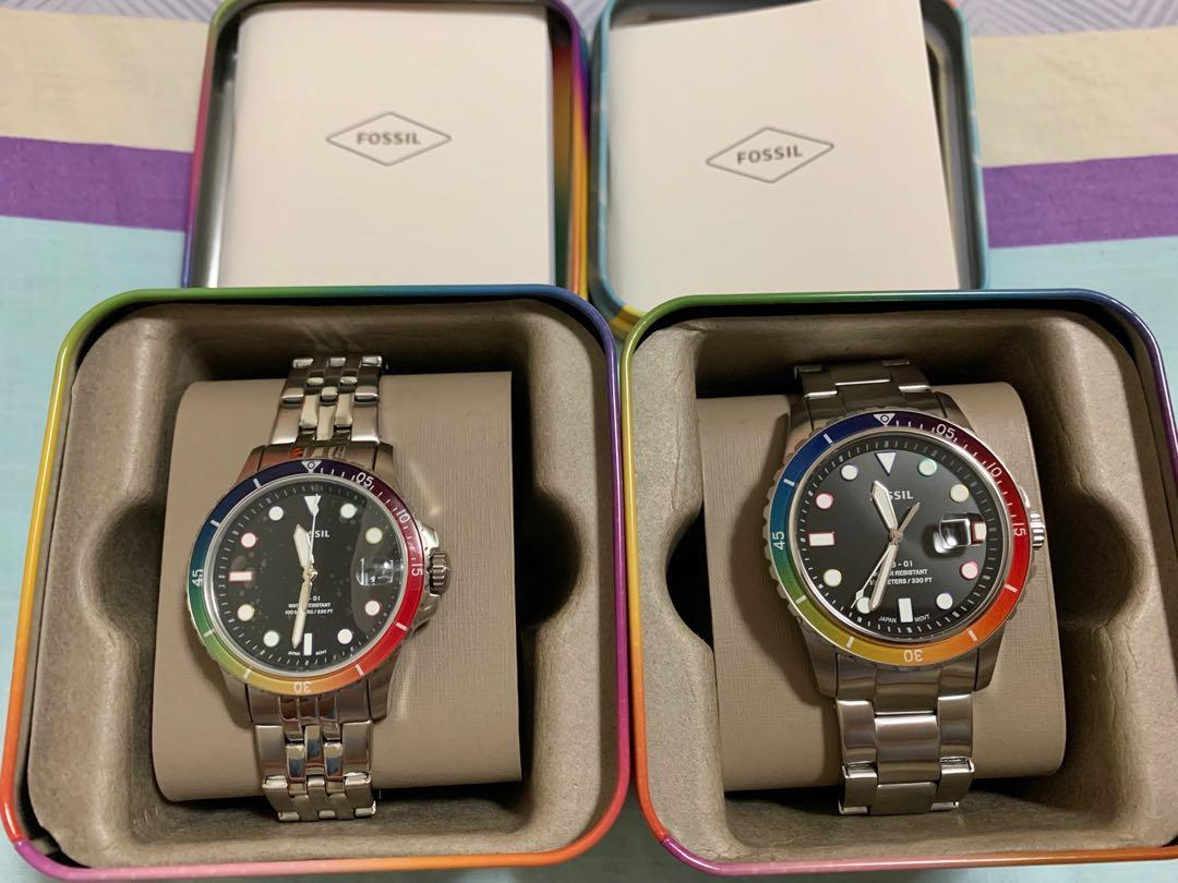 50% Off Brand new Fossil limited edition (Couple Watch) For Sale