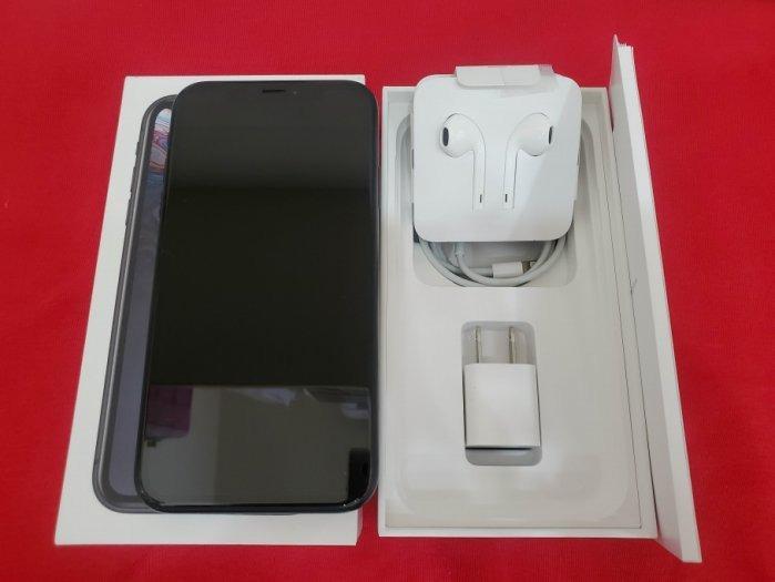 ※聯翔通訊 黑色 Apple iPhone XR 64G 台灣原廠過保固2019/10/28 原廠盒裝※換機優先