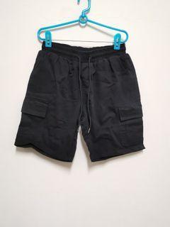 軍裝短褲 黑色 尺寸M