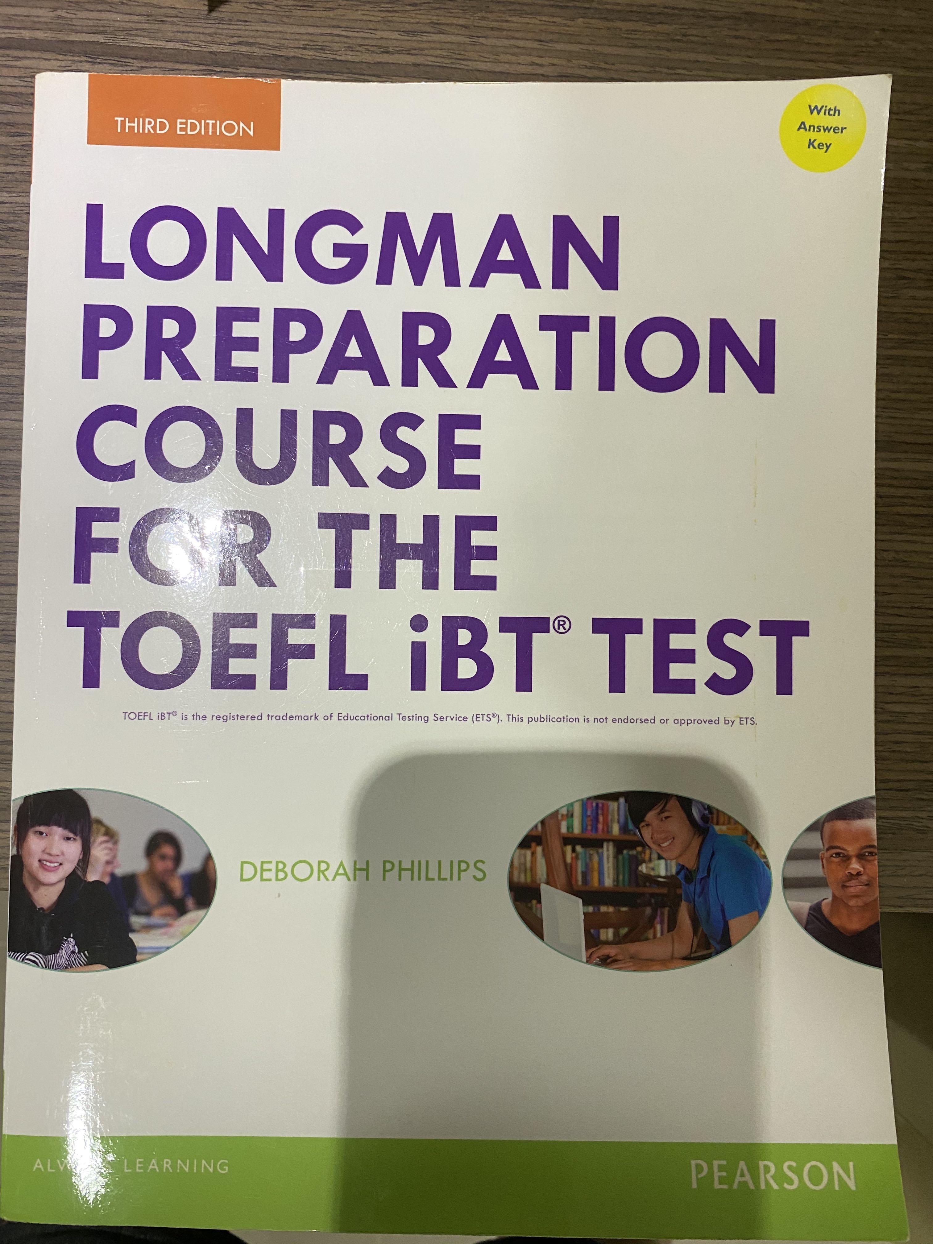 托福 Longman preparation course for the TOEFL iBT TEST