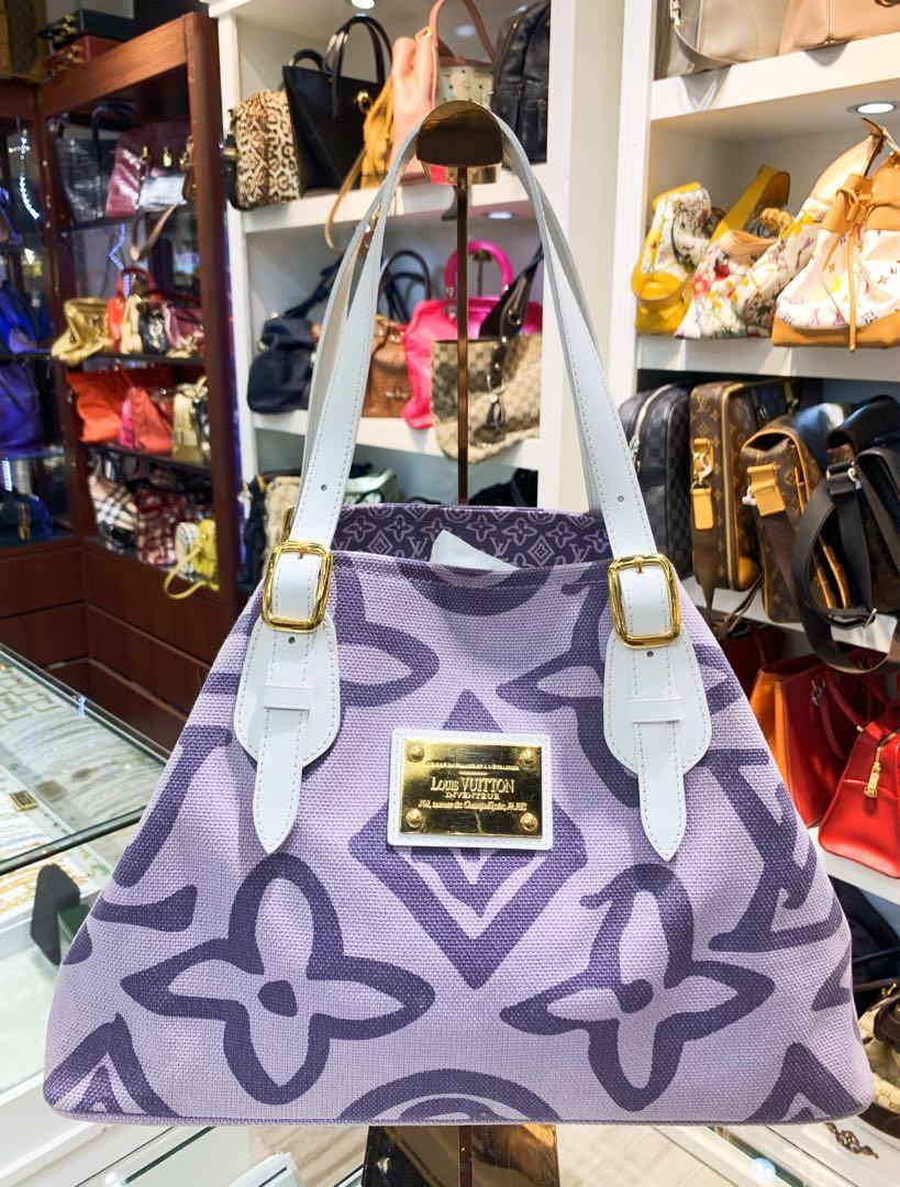 👜 Louis Vuitton Tahitienne Cabas Lilac Tote