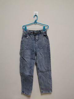 牛仔直筒褲 尺寸M
