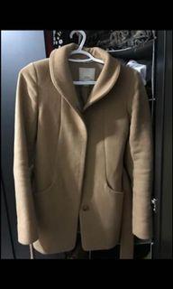 Aritzia cocoon belted short coat
