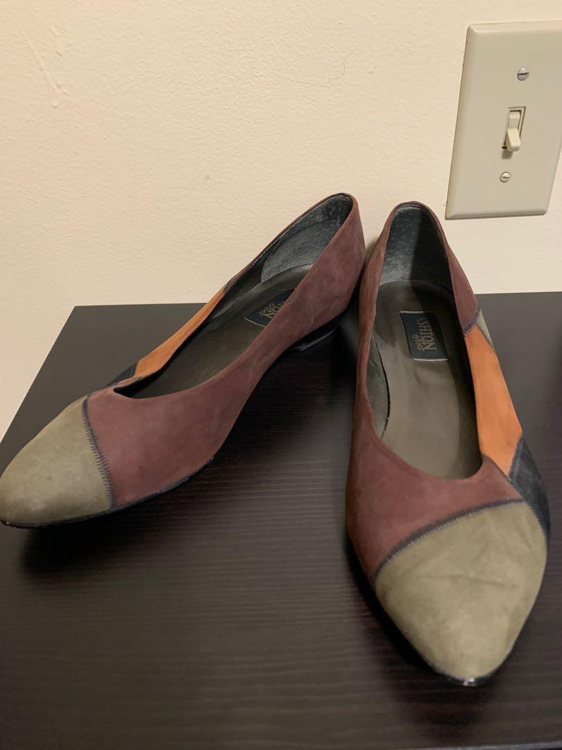 Baby heel flats