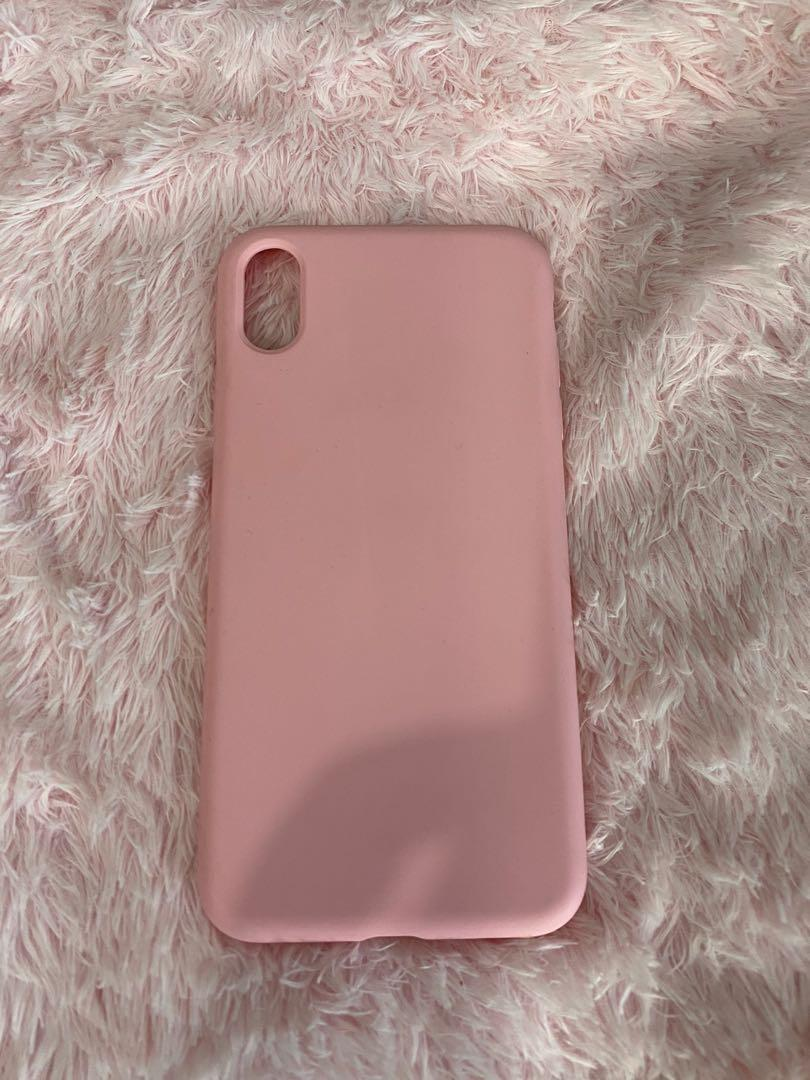 Baby pink Xs Max phone case