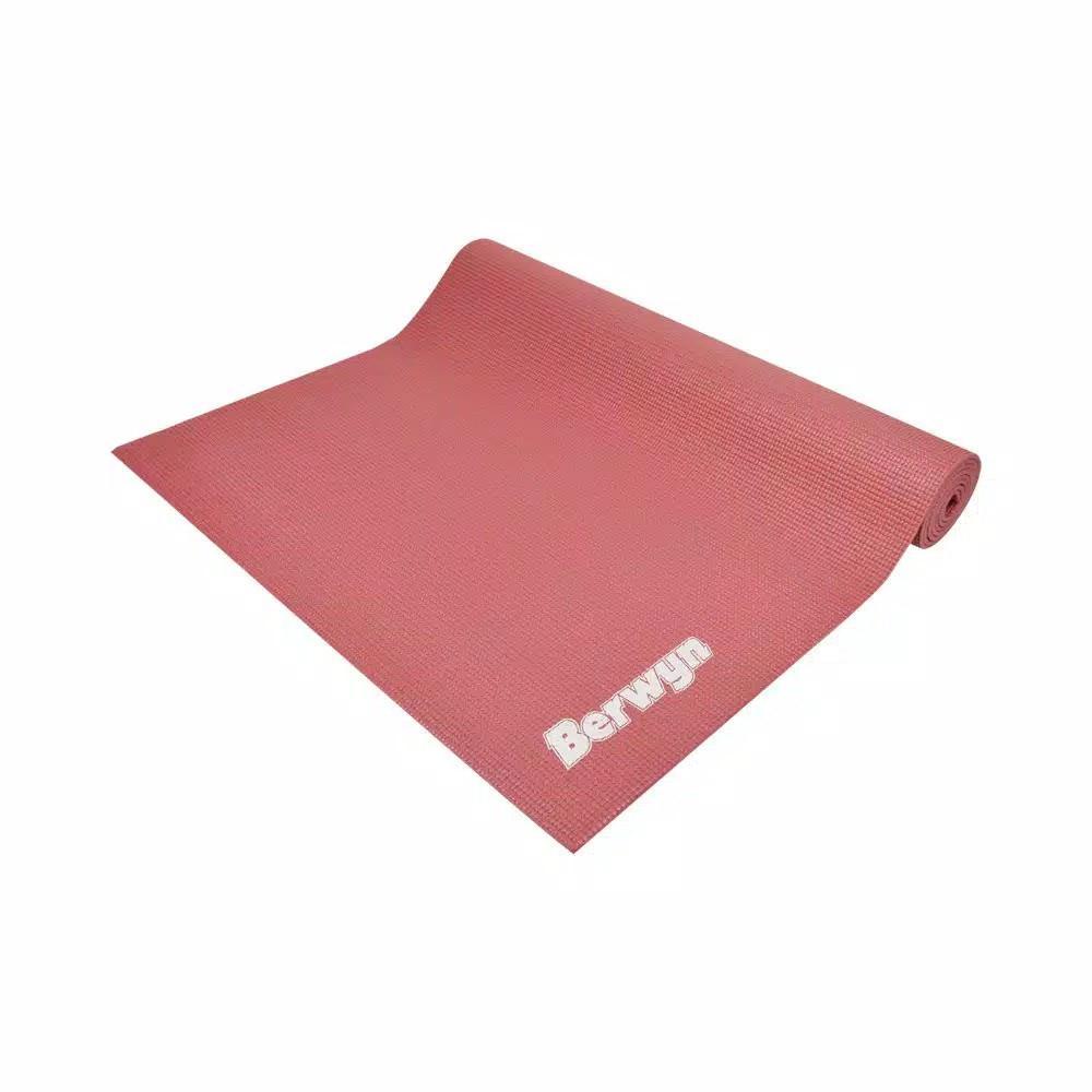 Berwyn Matras Yoga Single Layer Pvc - Pink