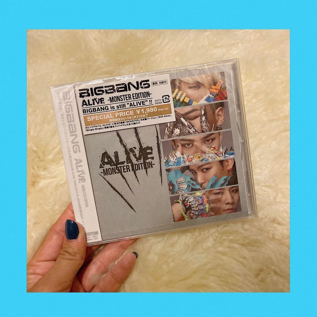 Bigbang全新日版Alive專輯