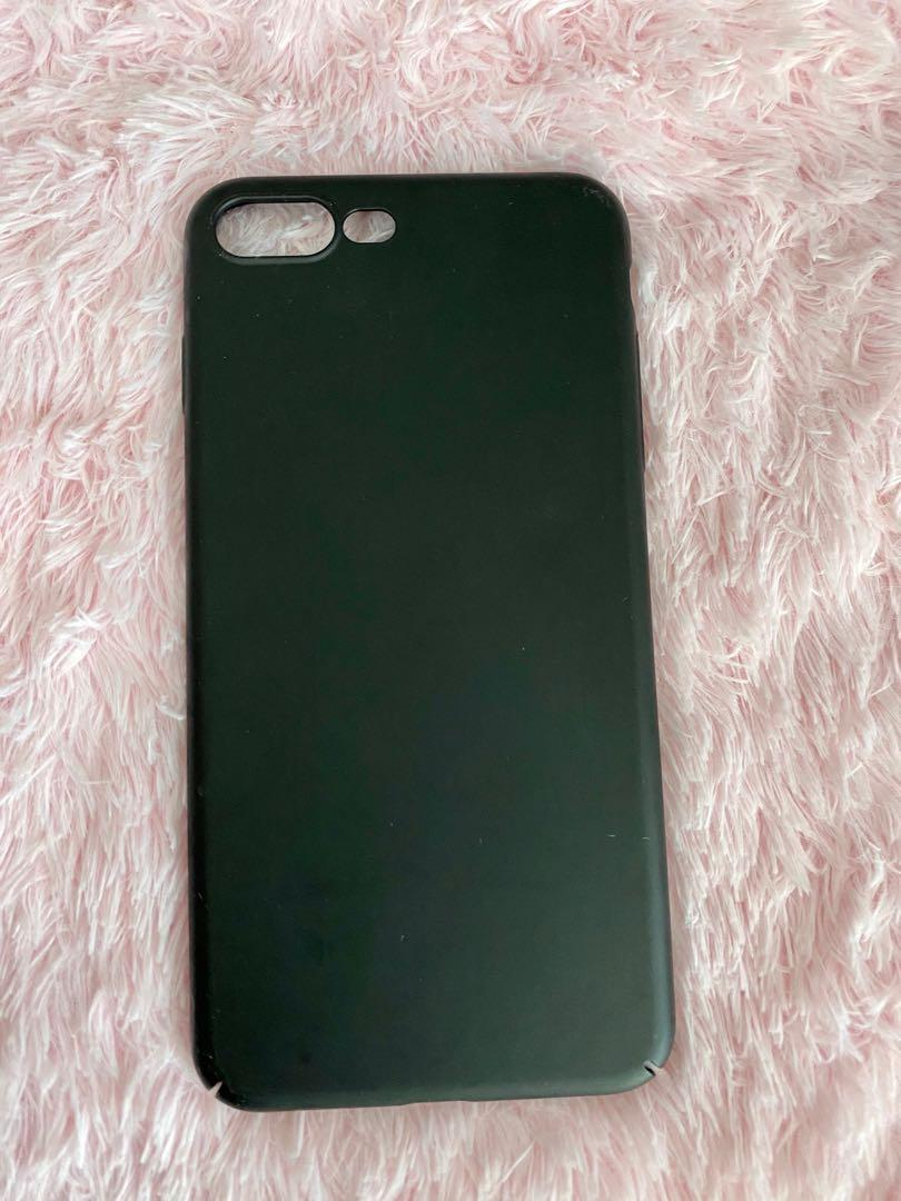 Black Iphone 6/7 plus phone case