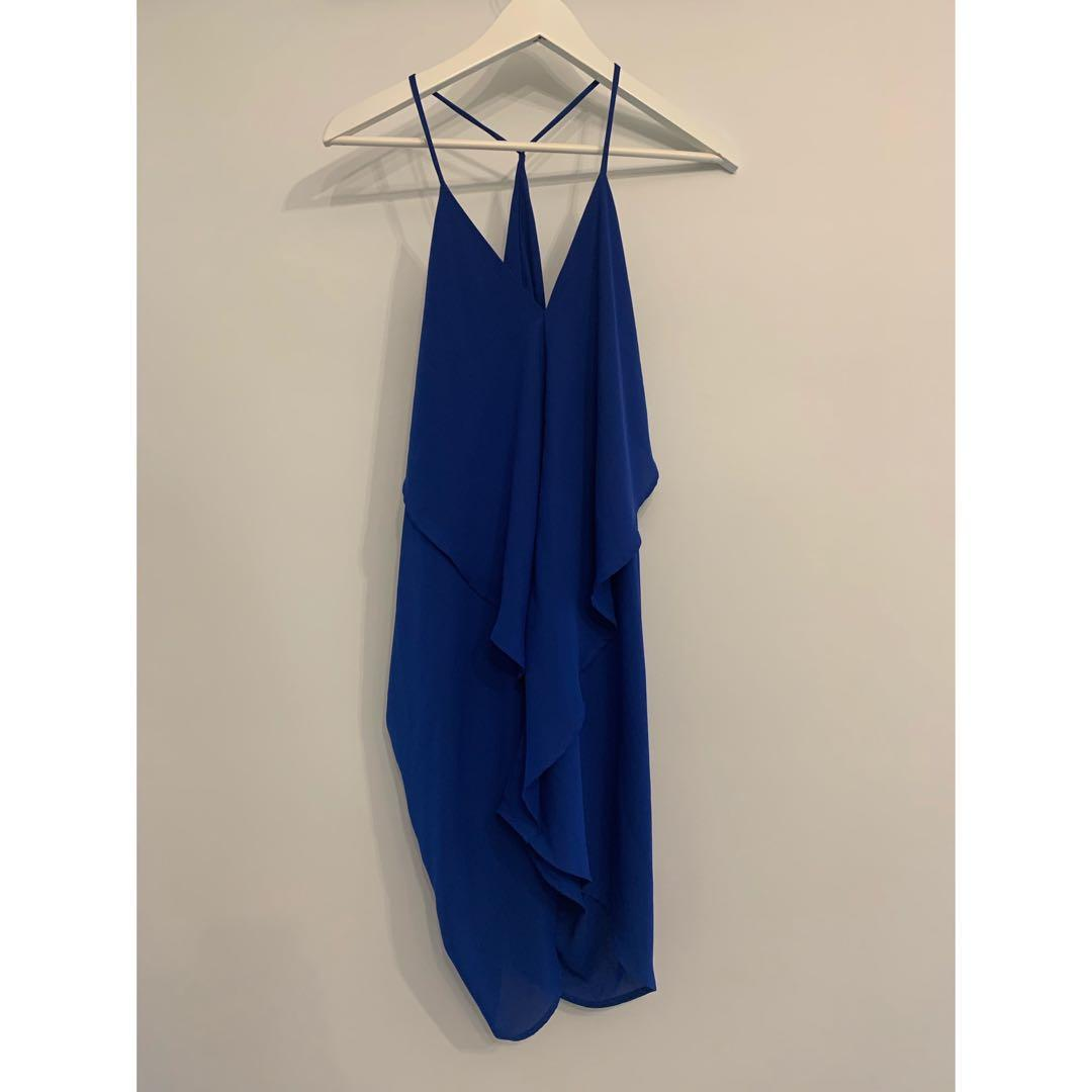 BLUE MINI DRESS FROM HONEY