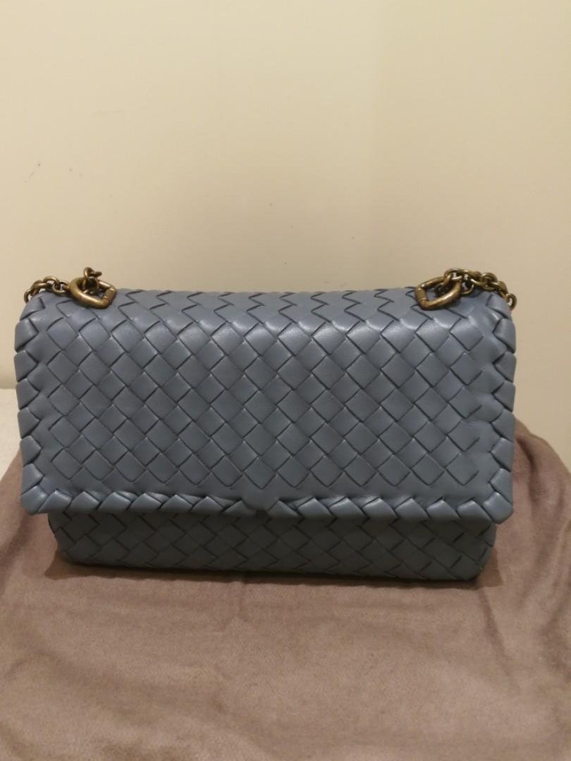 Bnib Bottega Veneta Classic Baby Olimpia Bag Authentic